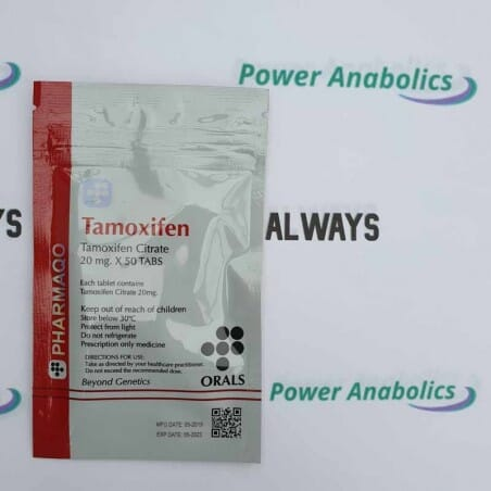 Tamoxifen 20mg PHARMAQO - 2