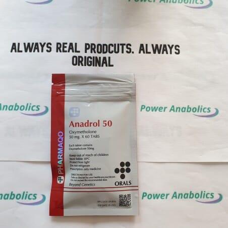 Anadrol 50mg PHARMAQO - 1