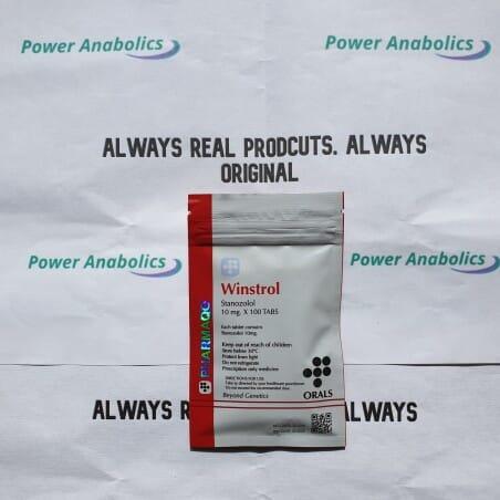 Winstrol 10mg PHARMAQO - 1 - Buy steroids UK