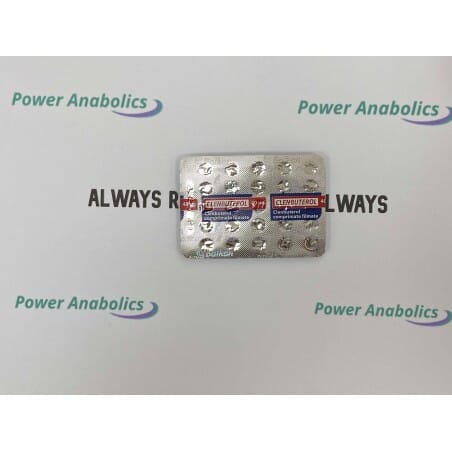 Clenbuterol – Balkan Pharma 50tabs/40ug - 1 - Buy steroids UK
