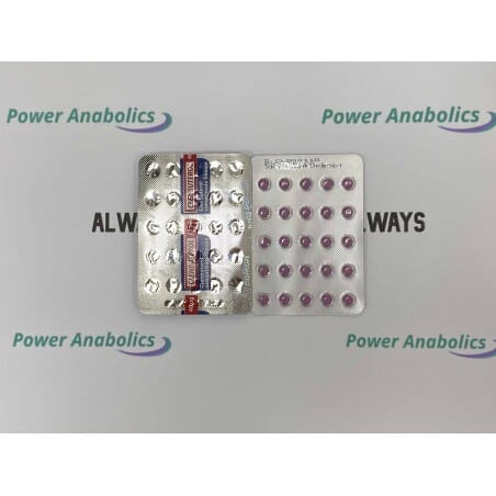 Clenbuterol – Balkan Pharma 50tabs/40ug - 2 - Buy steroids UK