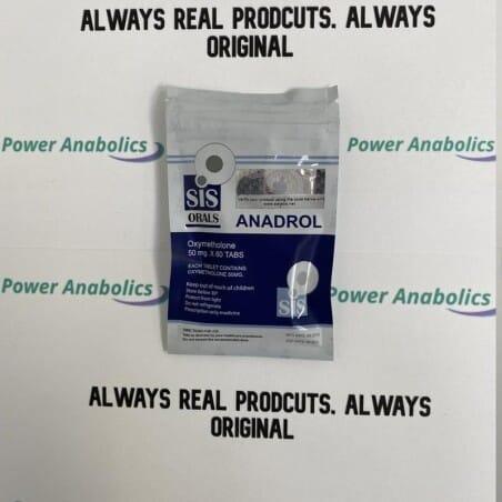 Anadrol 50mg SIS LABS steroids uk