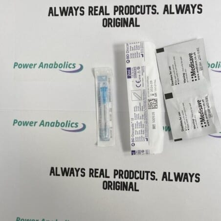 10x syringe, 10x needle, 10x swab - 1